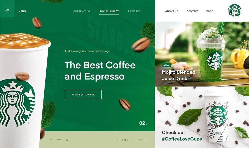 website design layout template