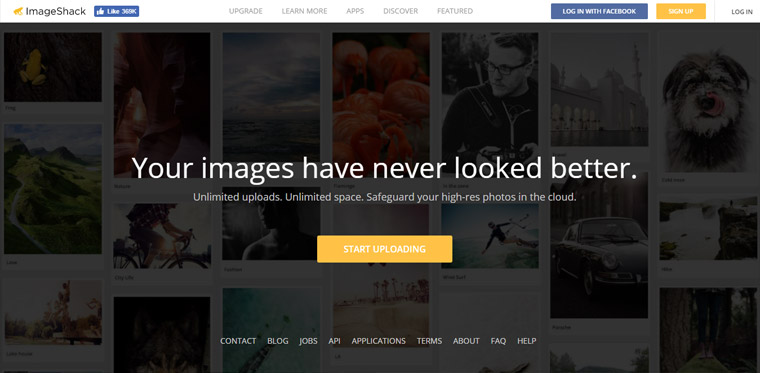 ImageShack photo sharing site