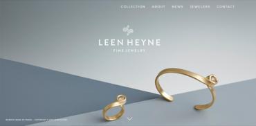 Jewelry web design inspiration