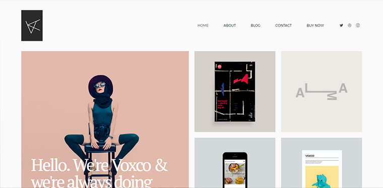 Voxco Portfolio WordPress Theme
