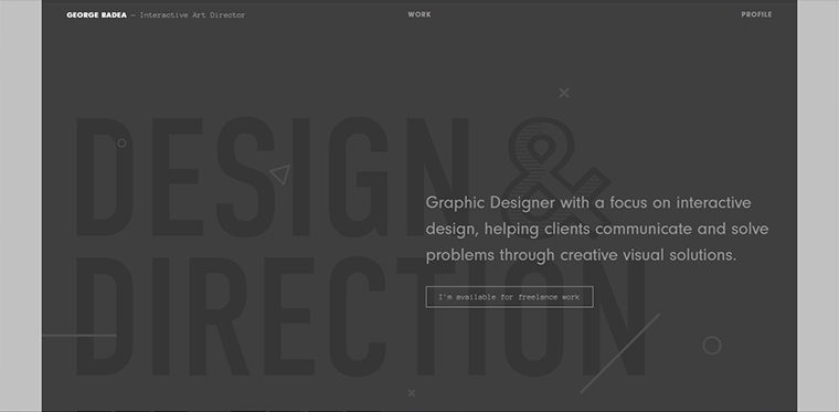 george badea web design