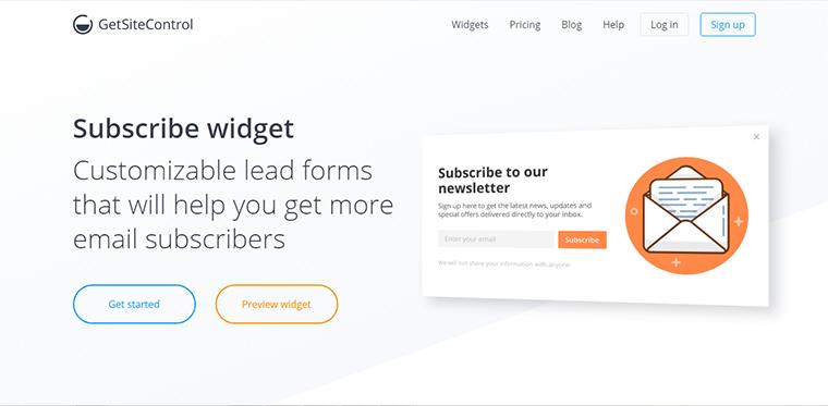 social email popup widgets plugins