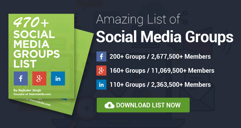 facebook media groups list