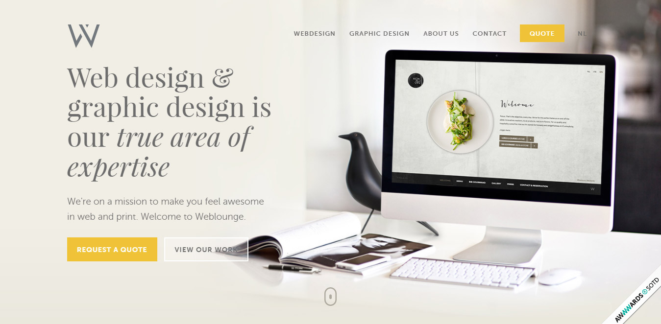 best web design inspiration