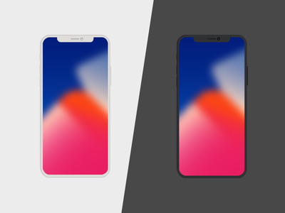 iPhone X free PSD