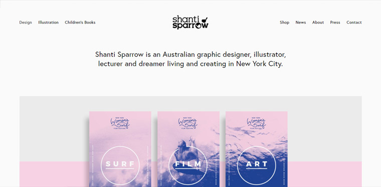 Website template inspiration