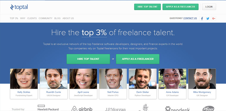 Hire Freelance Talent