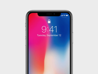 iPhone X PSD