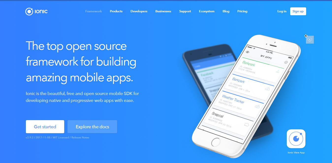 mobile apps builder