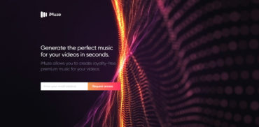 music web design inspiration