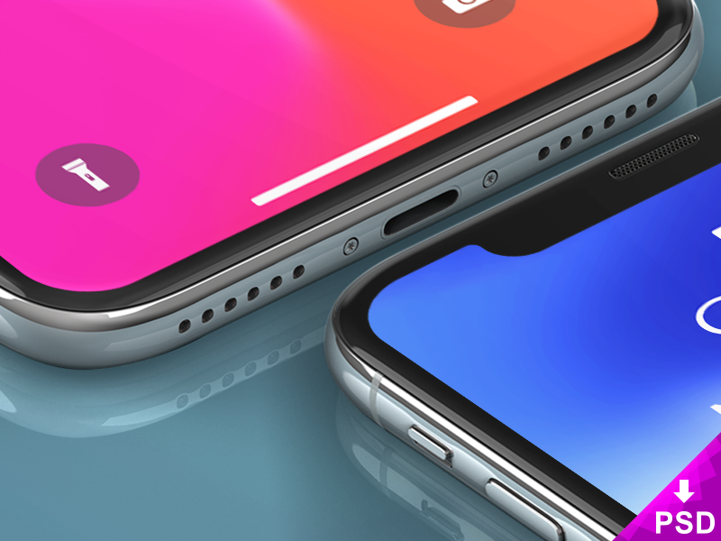 iPhone X Freebie Mockups