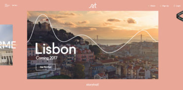 Web design inspiration 2017
