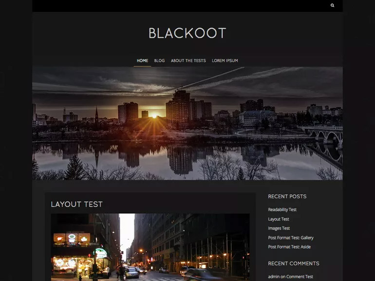 wordpress grid blog themes