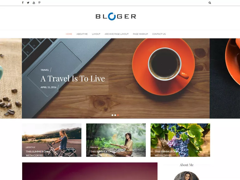 best travel blog wordpress themes