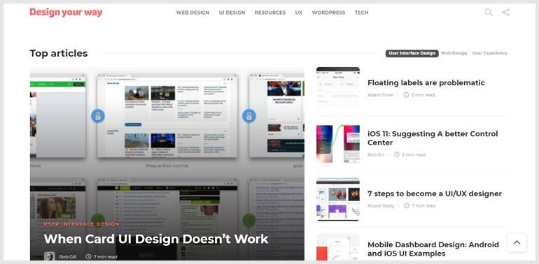 Design Your Way