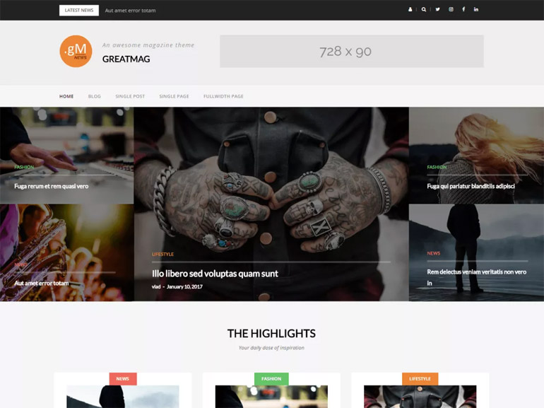 amazing wordpress blog themes