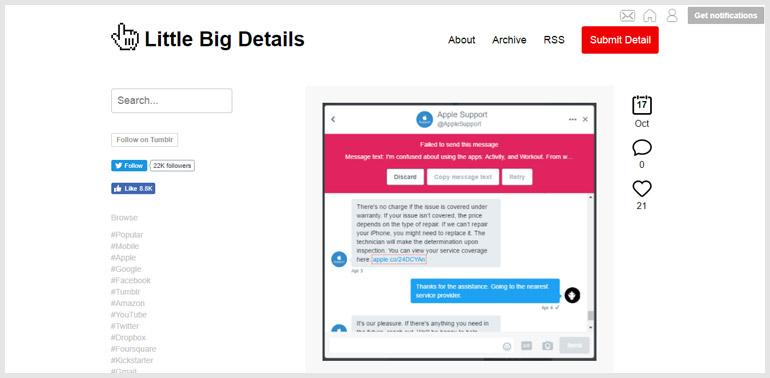 UX designing blogs