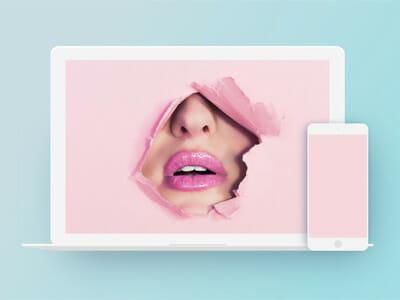 macbook psd mockup