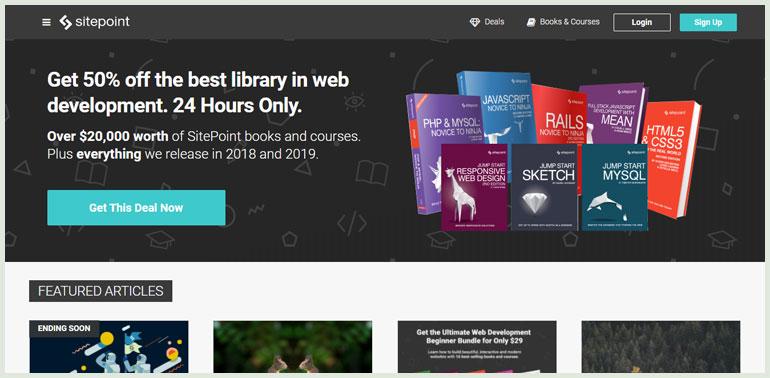SitePoint web design blog