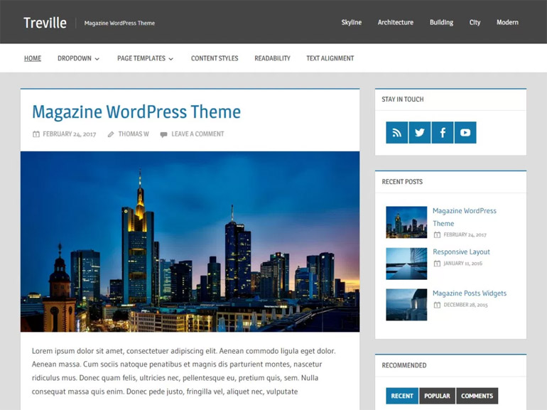 travel blog wordpress themes free