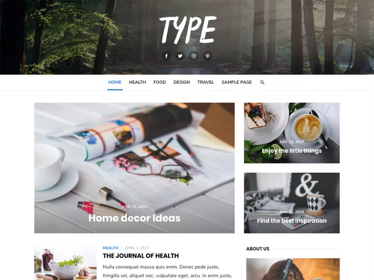 wordpress recipe blog themes