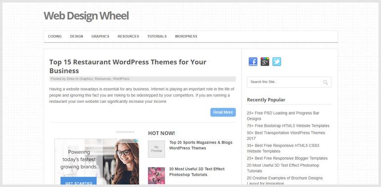 Web Design Wheel