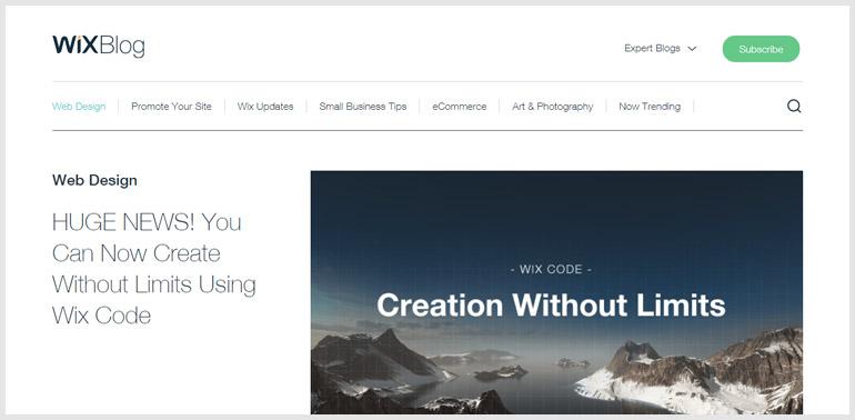 Wix Blog