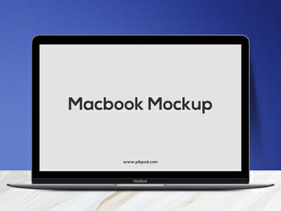 mockup macbook
