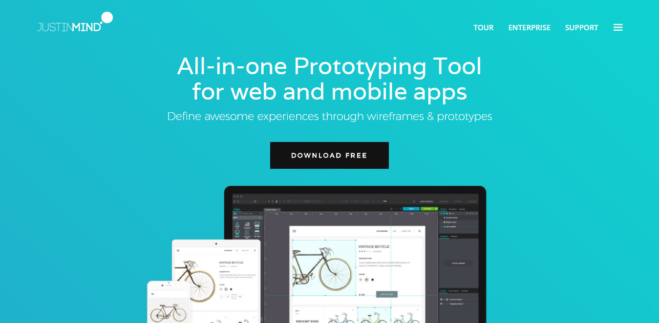 Prototyping tools for apps