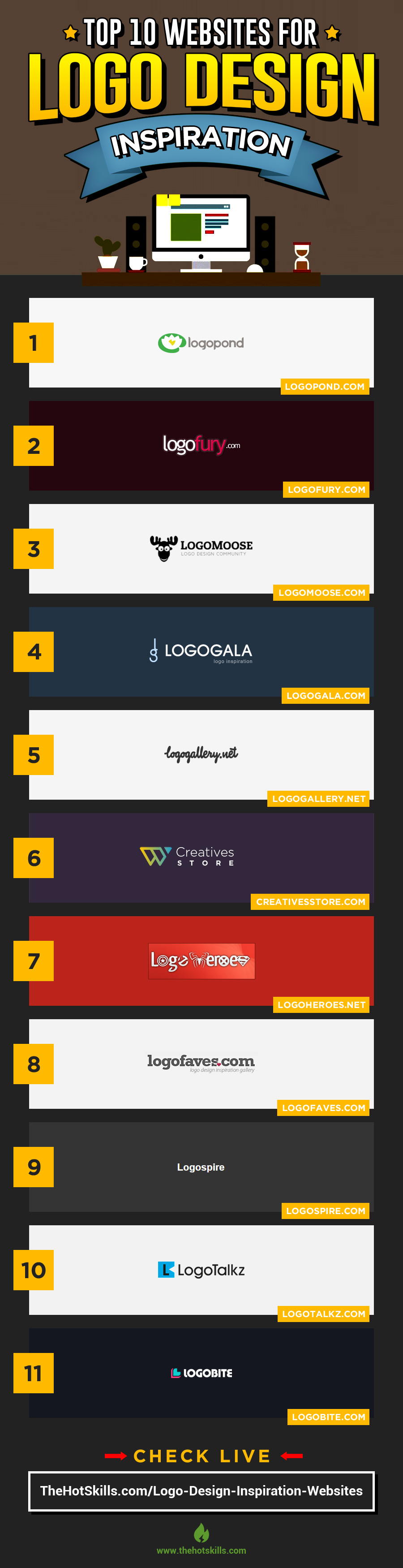 logo design inspiration sites & gallery