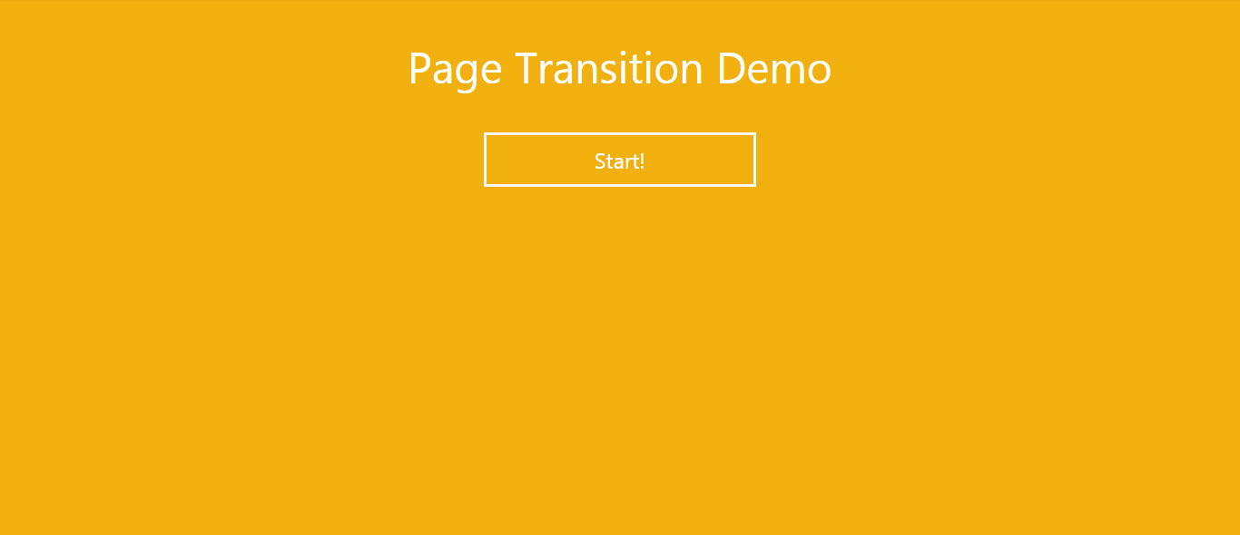 Simple Page Transition effect