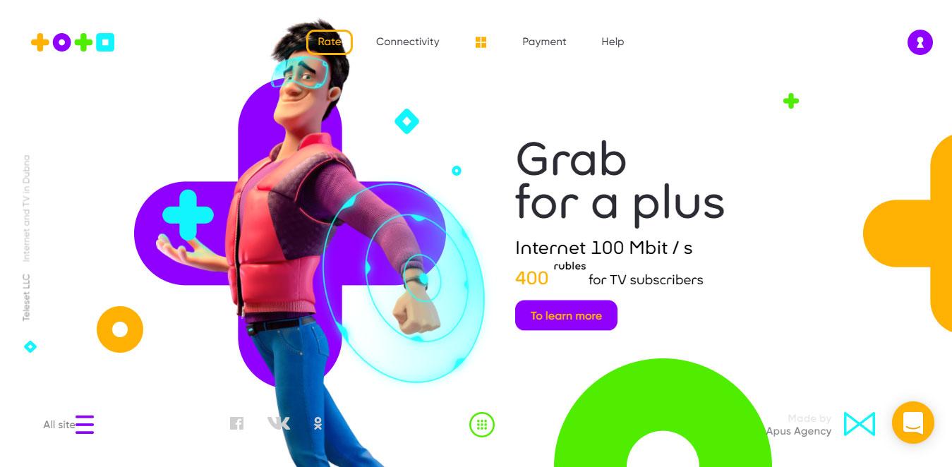 best responsive website design inspiration