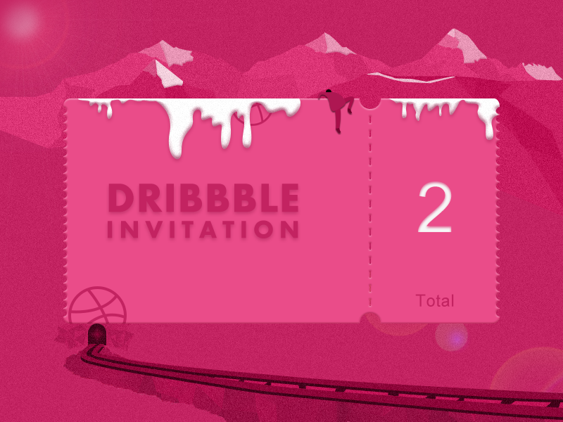 how to add invite dribbble