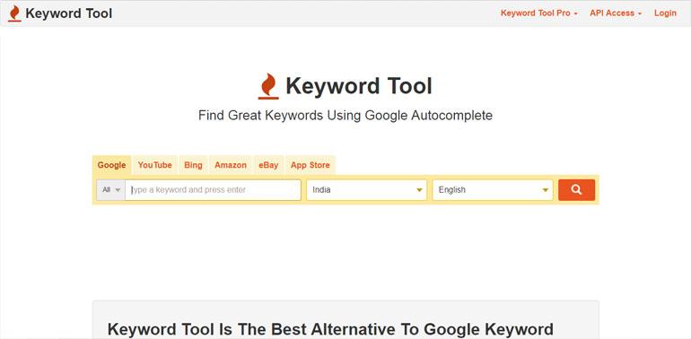 Google Keyword Planner Alternative For SEO