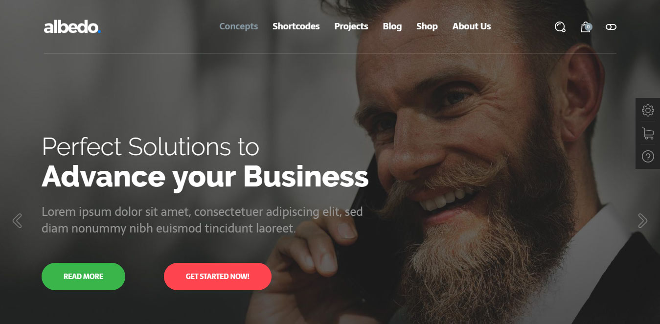 best responsive wordpress themes for business