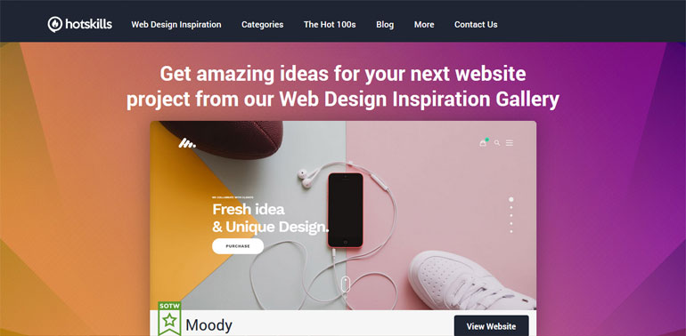 7 Best Websites for Web Design Inspiration [ 2018 ] - TheHotSkills