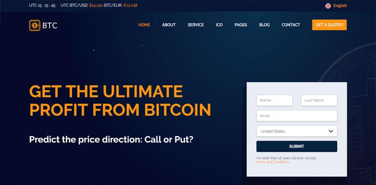 Crypto Coin & ICO Template