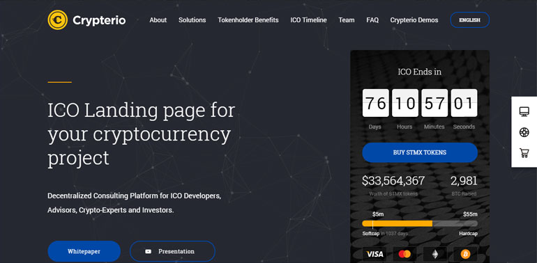 Best Cryptocurrency WordPress Theme