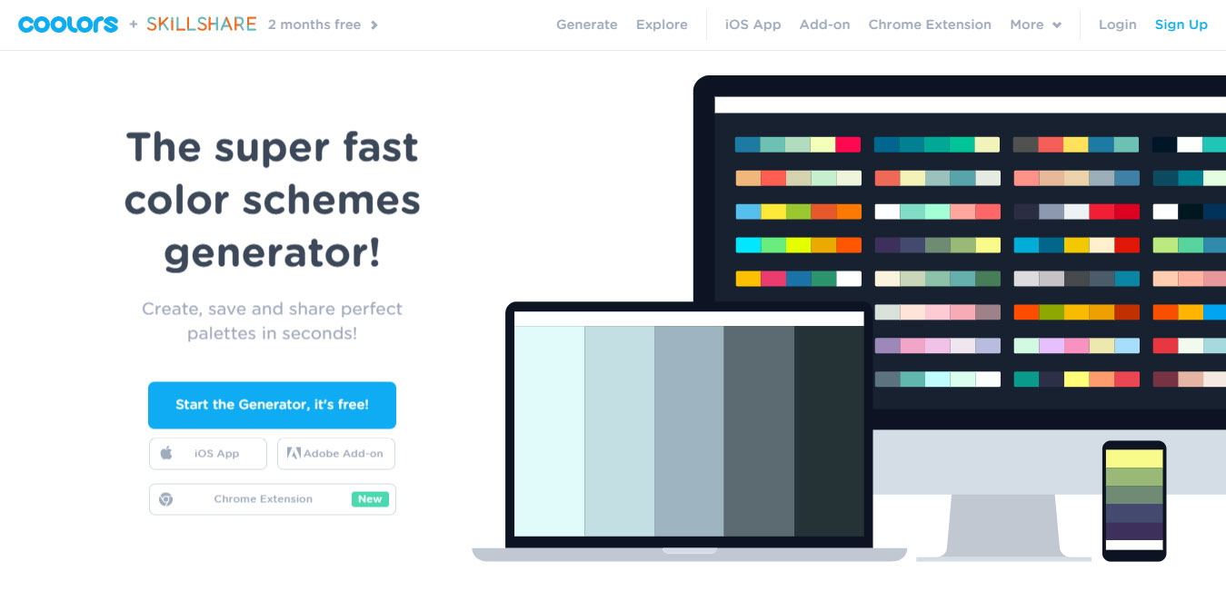 best color schemes generator