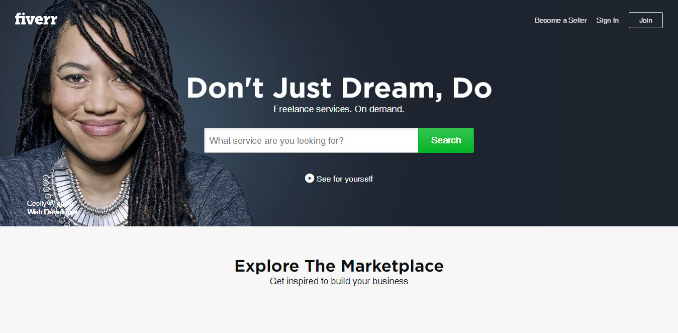 freelance services marketplace