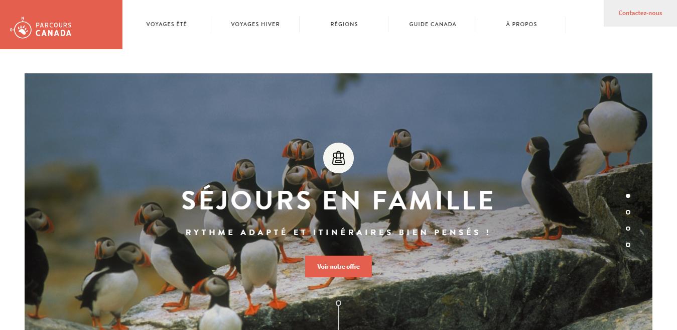 flat website designs