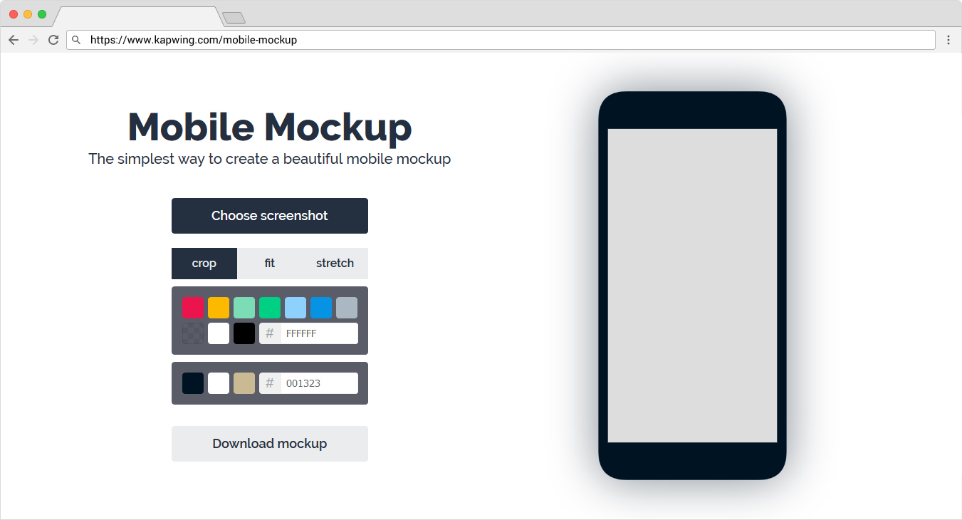 Create a Beautiful Mobile Mockups