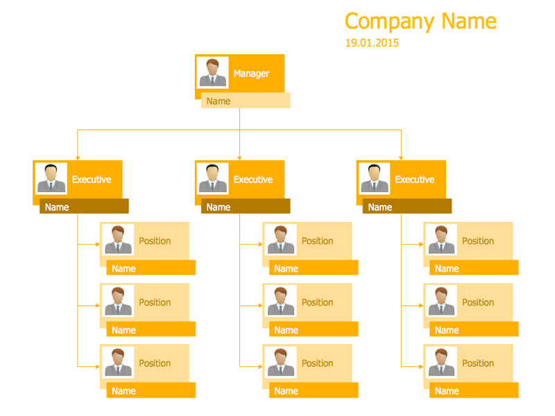 Free Organizational Chart Templates for Microsoft Word