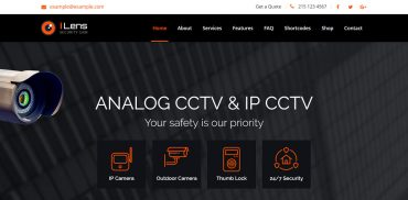 best cctv business wordpress theme