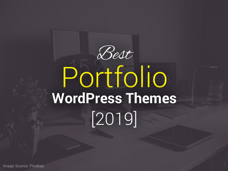 best portfolio wordpress themes 2019