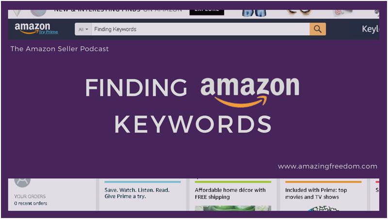 finding amazon keywords