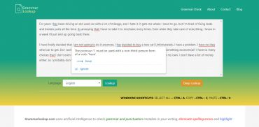 free online grammar check