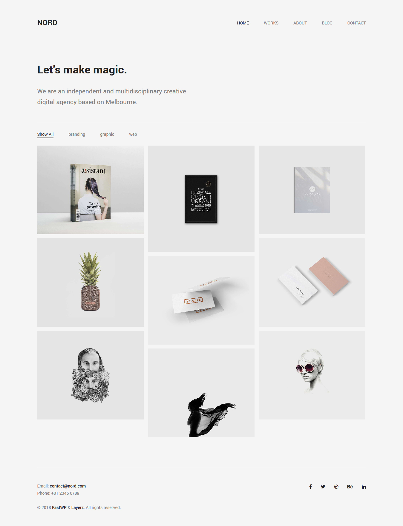 best portfolio wordpress themes for designers
