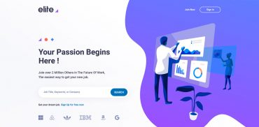 Job Portal Landing Page
