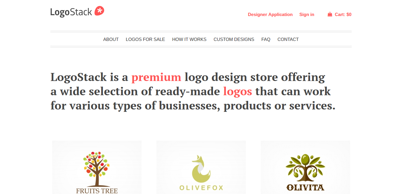 Buy a Logo; Ready Made Logo Designs for Sale